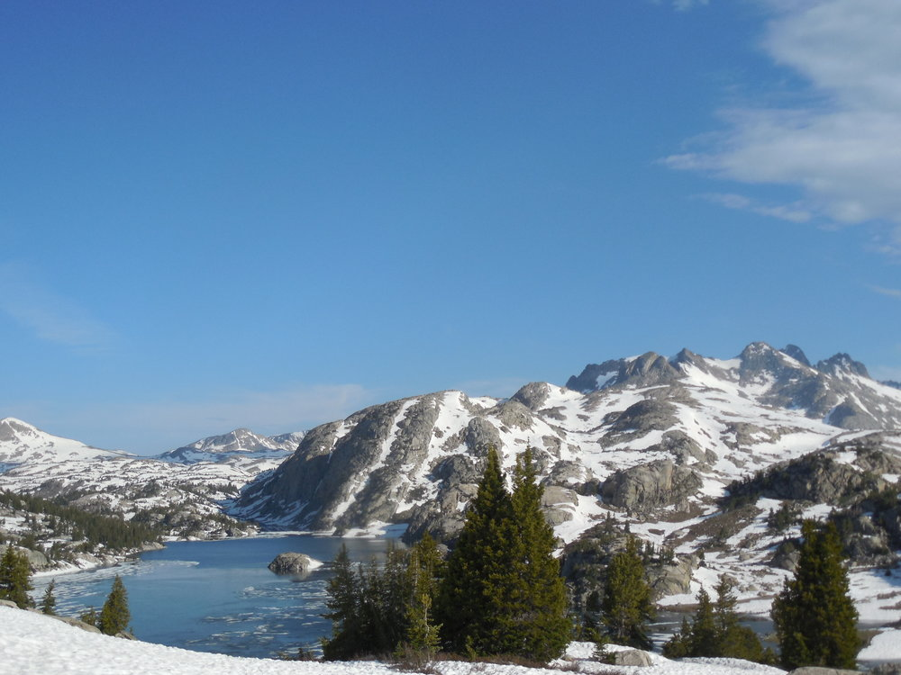 A lake in the Wind River mountains is a last trace of the world that existed before mountaintop removal and chemical-polluted water became commonplace.