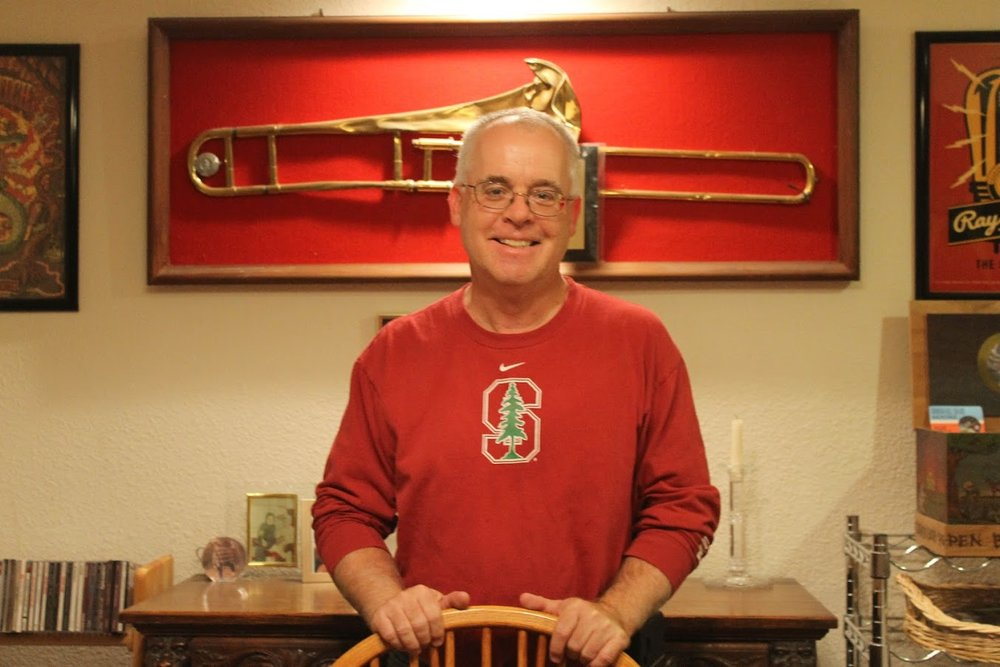 """Gary Tyrrell, trombonist during """"The Play"""""""