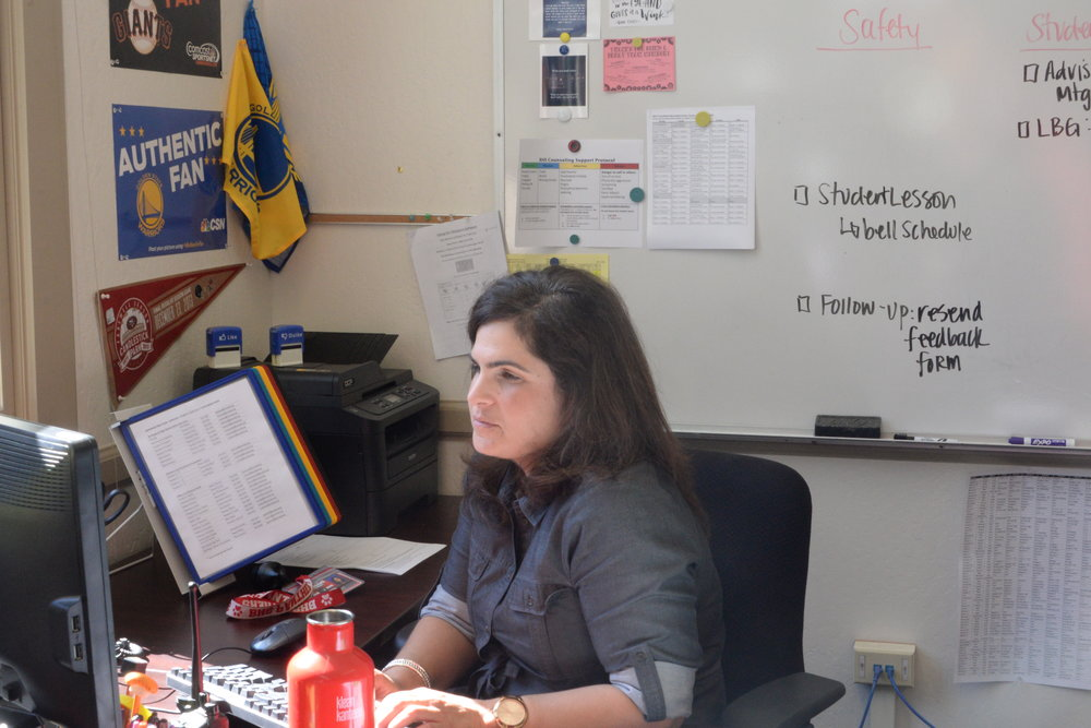This is Fichera's first year as an assistant vice principal.