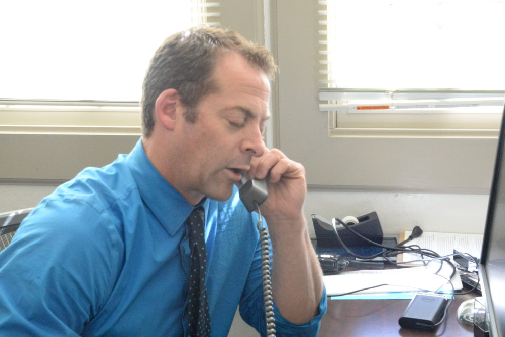Autrey is in charge of underclassmen as assistant vice principal.