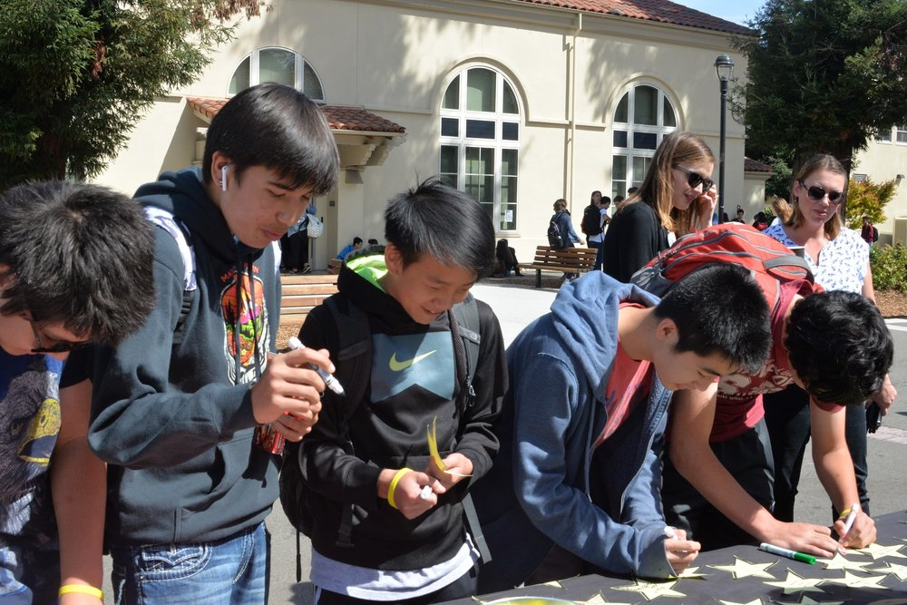 Five local mental health resources worked with Burlingame counselors to educate students about suicide awareness and prevention.
