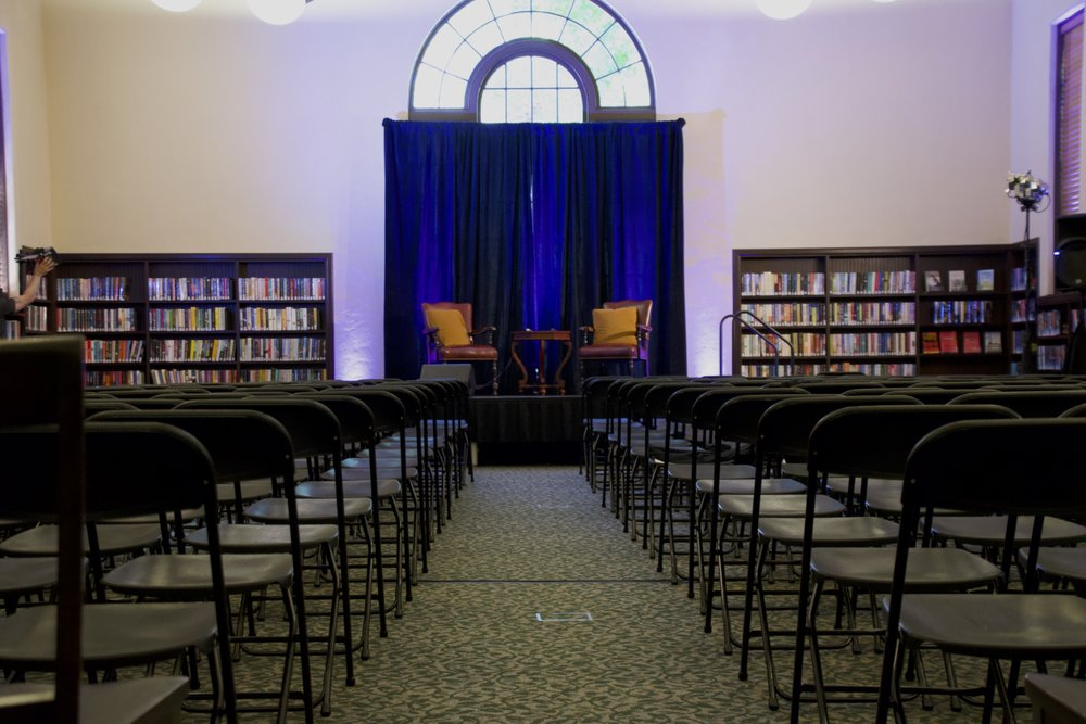 Hours after the confirmation of Associate Justice Brett Kavanuagh, community members gathered at the Burlingame Public Library for a conversation between Jackie Speier and Patricia Arquette.