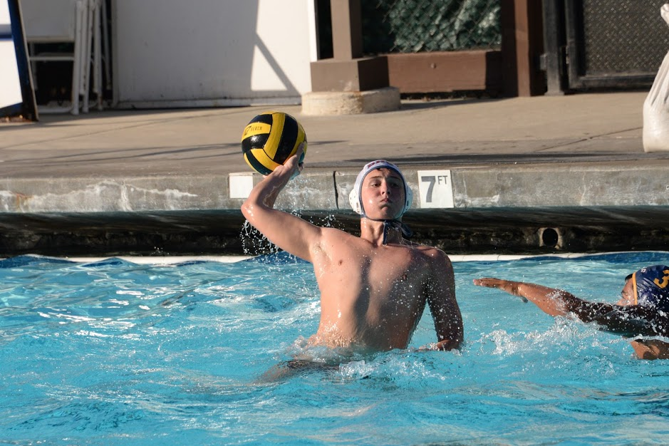 Junior Mason Rossi shoots the ball during a game against Menlo Atherton