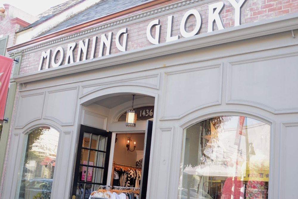 Morning Glory has been open since 1972 and has been in its location on 1436 Burlingame Avenue since 1995.