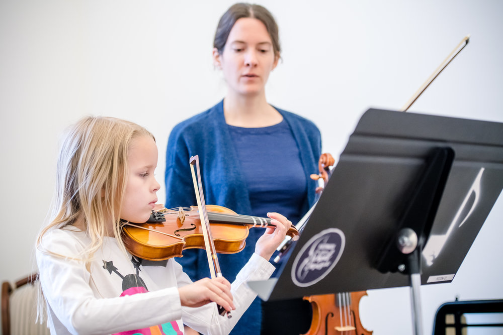 Kid and Teenager Violin Lessons at Baltimore School of Music