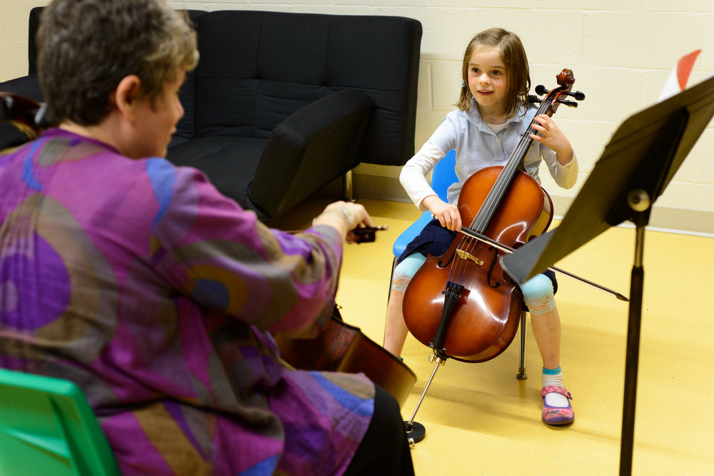 Kid and Teenage Cello Lessons at Baltimore School of Music