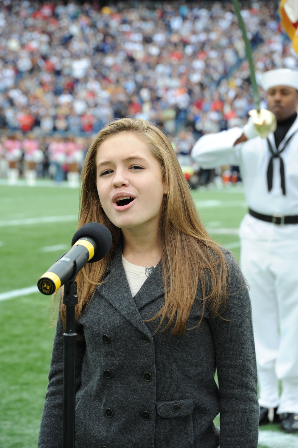 National Anthem-New England Patriots