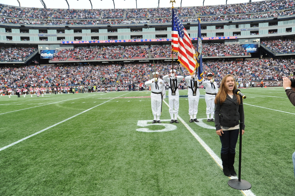 National Anthem- New England Patriots