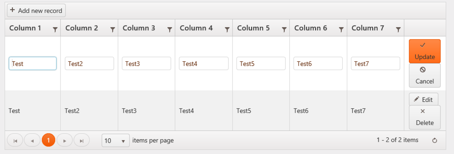 Make a Read Only column in Kendo UI Grid Edit Mode — Adam