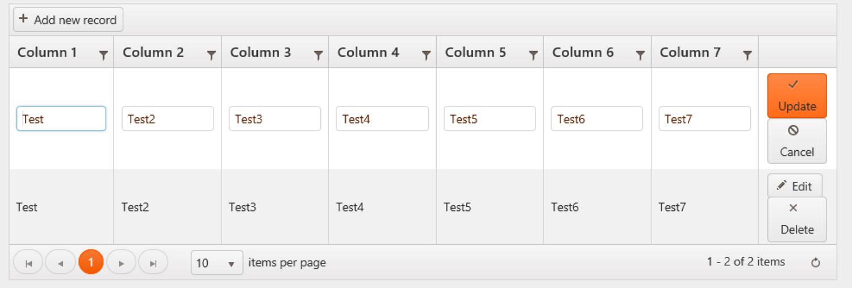 Make a Read Only column in Kendo UI Grid Edit Mode — Adam Bumgardner