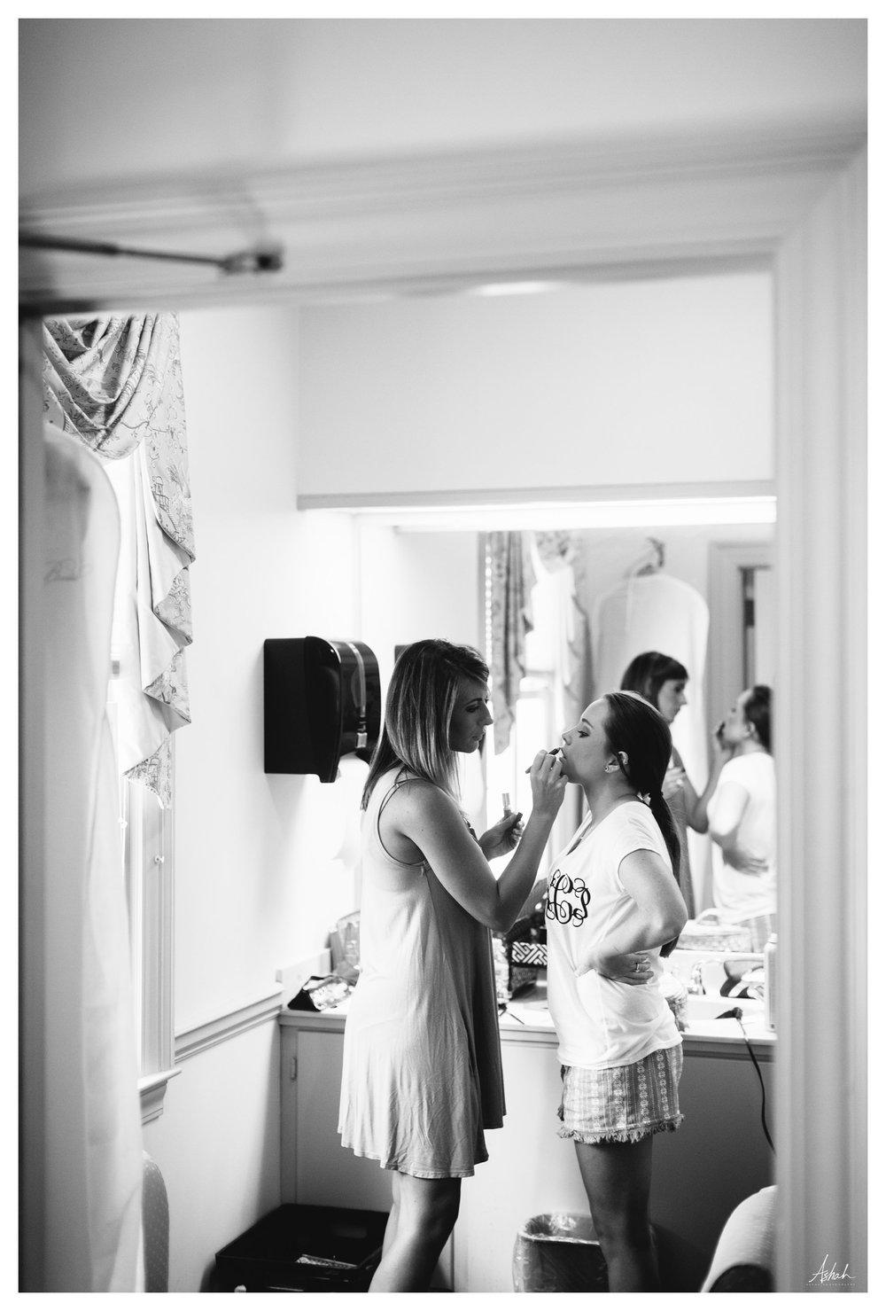 Hair and Makeup - Dublin Wedding Photography