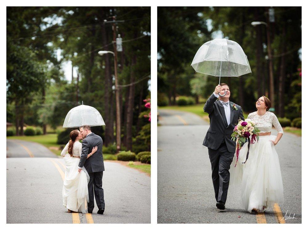 A Little Rain - Dublin Wedding Photographer