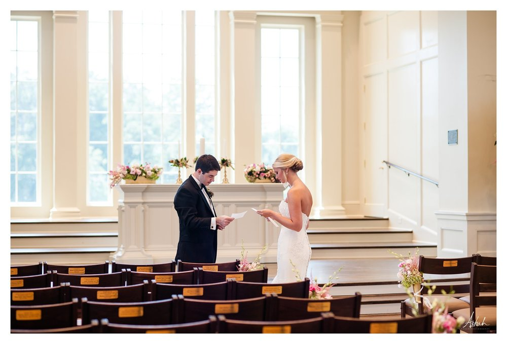 The Vows -  - Macon Wedding Photographer