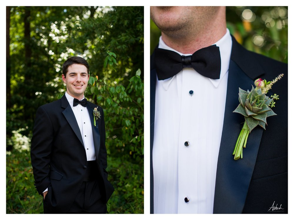 Groom Detail  - Macon Wedding Photographer