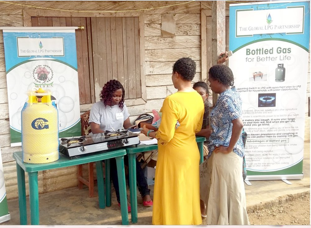 GLPGP's Bottled gas for better life initiative, cameroon