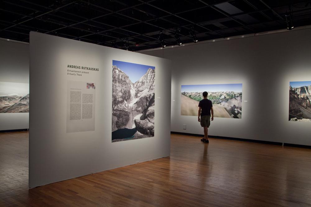 Virtually There at the Maison de la culture Frontenac, part of the 14th edition of Le Mois de la Photo à Montréal