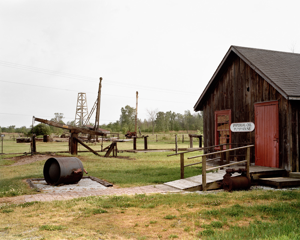 Fitzgerald Rig, Petrolia Discovery, 76 x 95 cm