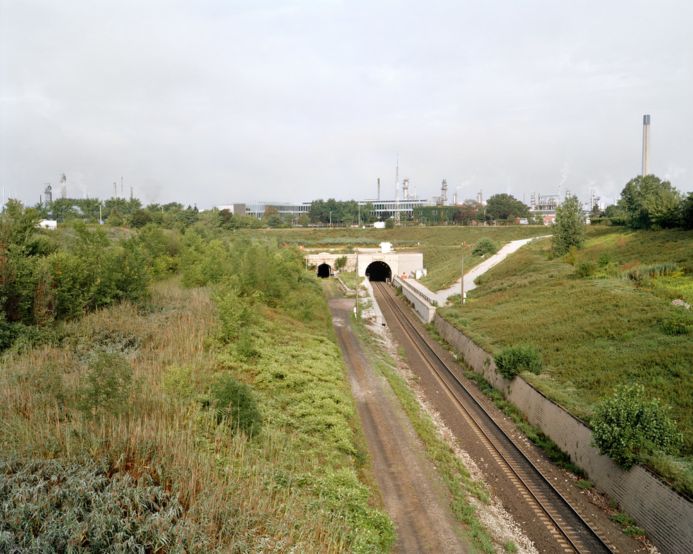 St. Clair Tunnel, 102 x 127 cm