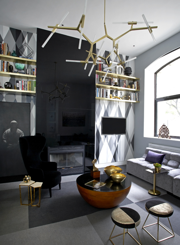 Soho Duplex Apartment — Christopher Coleman Interior Design