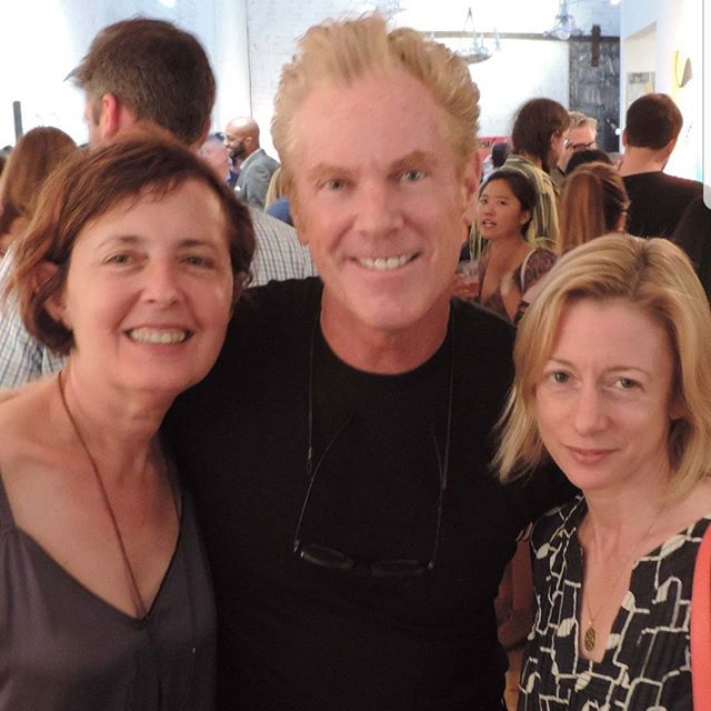 Great Fun Last Night With Friends at Novita Communications Celebration of 21 Years! With Wendy Siverstein and Elena Kornbluth. Photo by Rio Hamilton #nydesignworld#novitacommunications#interiordesignmagazine#nycnights#interiordesign#designlife#designlifestyle