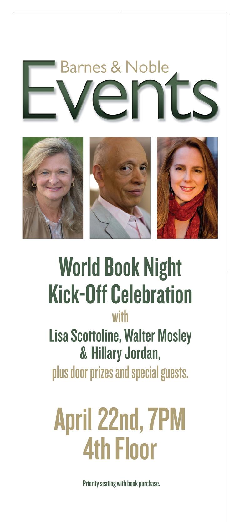 World Book Night Kickoff