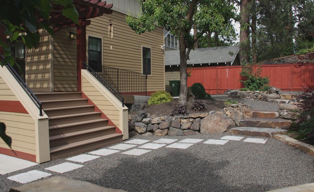 square paver walkway spokane