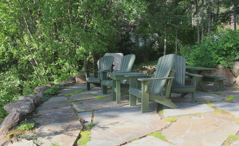 kootenai county flagstone patio landscaping