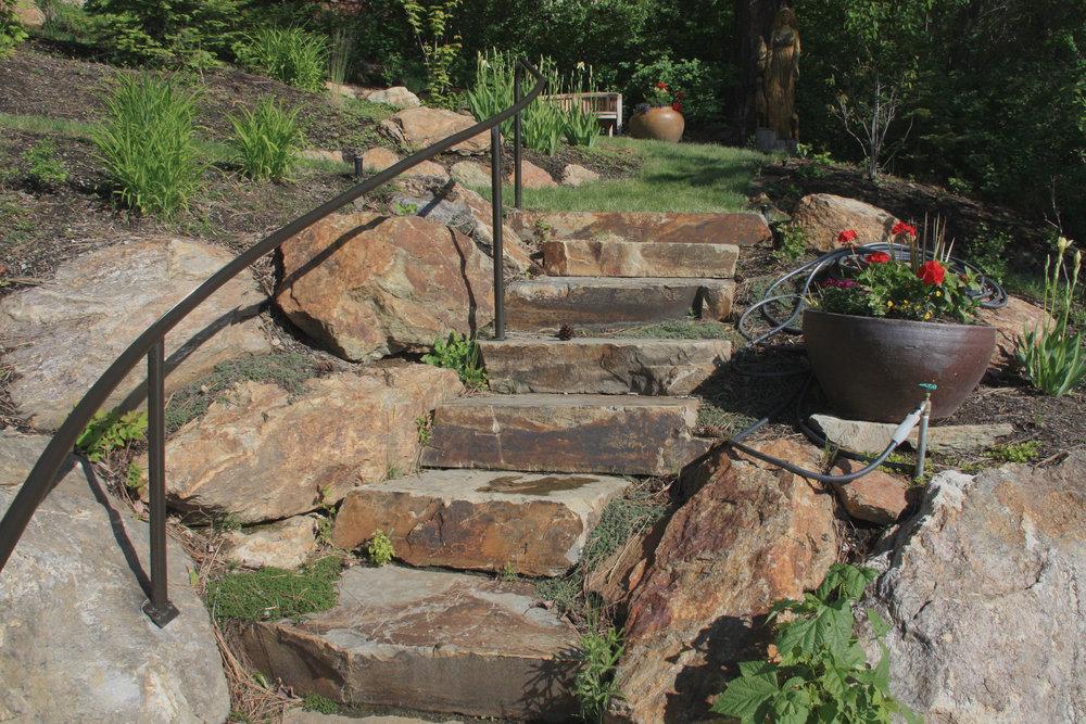 hillside landscaping kootenai county