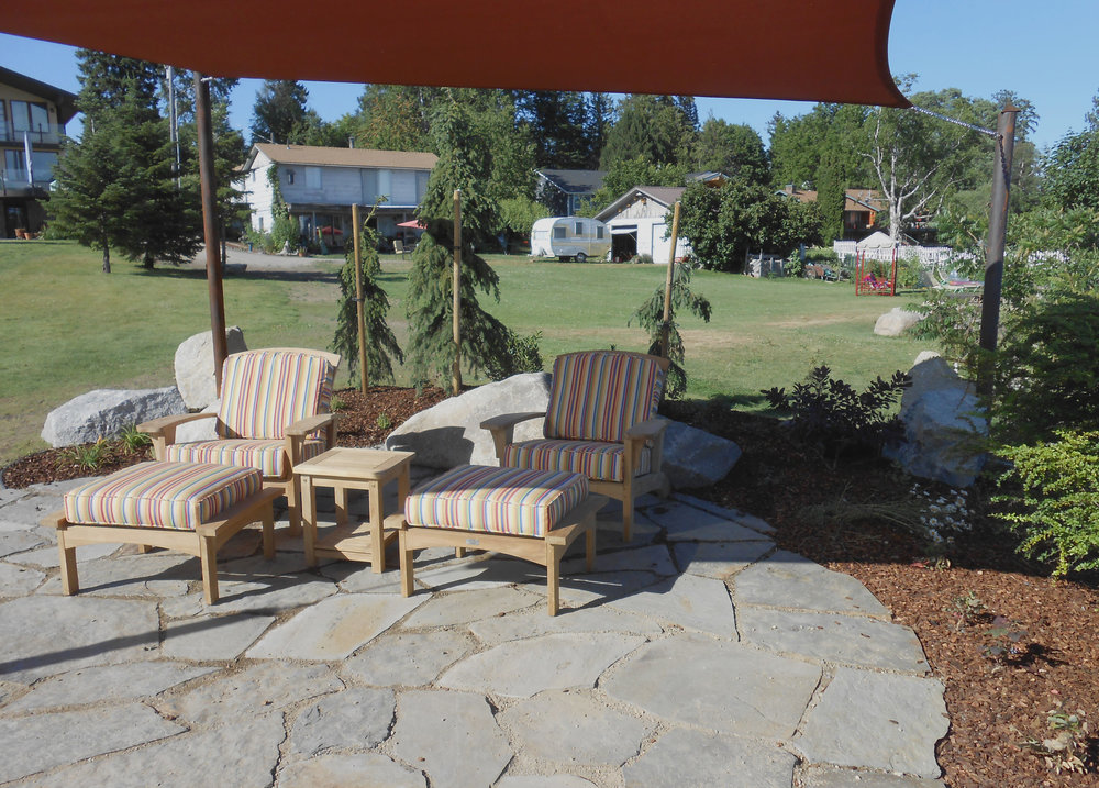 sandpoint flagstone patio