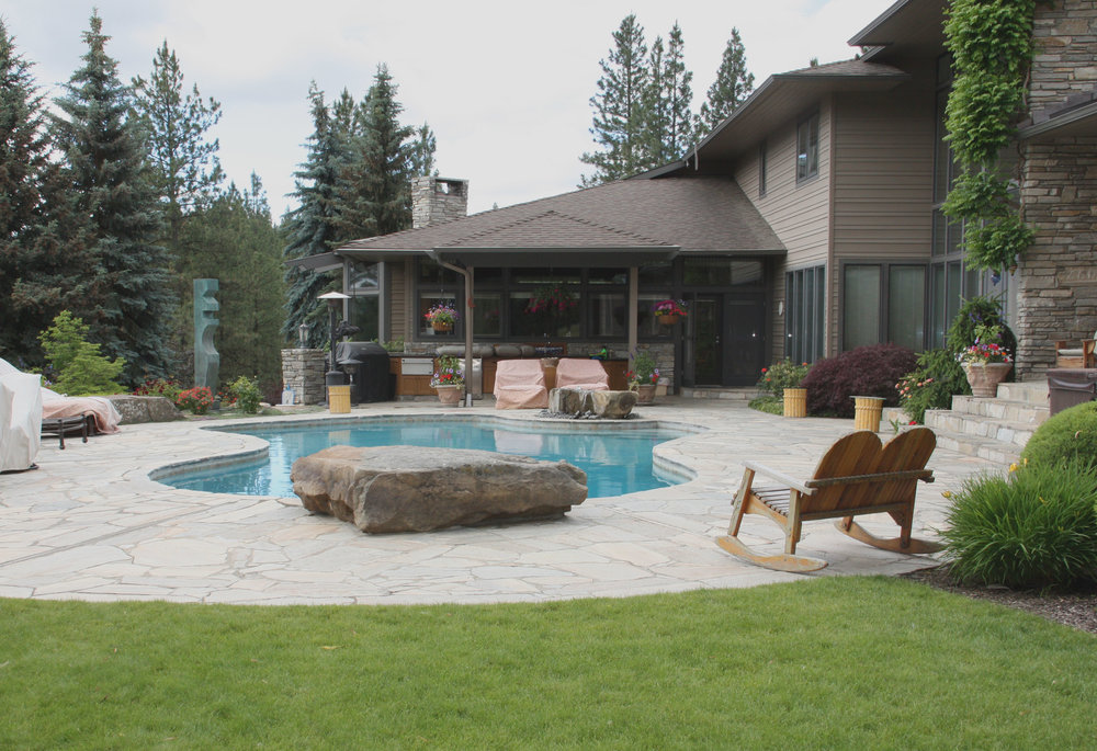 spokane pool landscaping