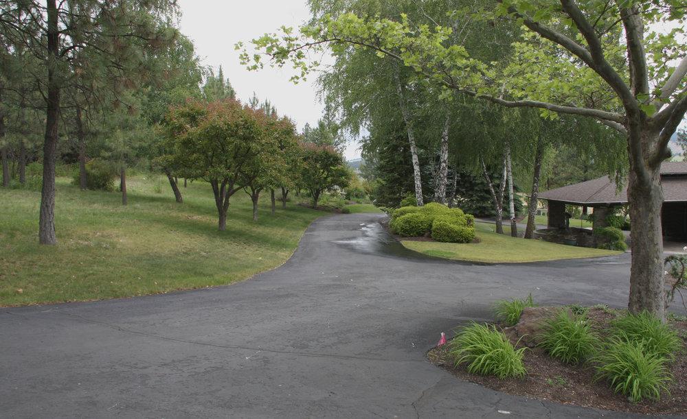 spokane estate driveway entry