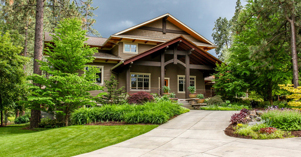 spokane south hill rockwood craftsman landscaping