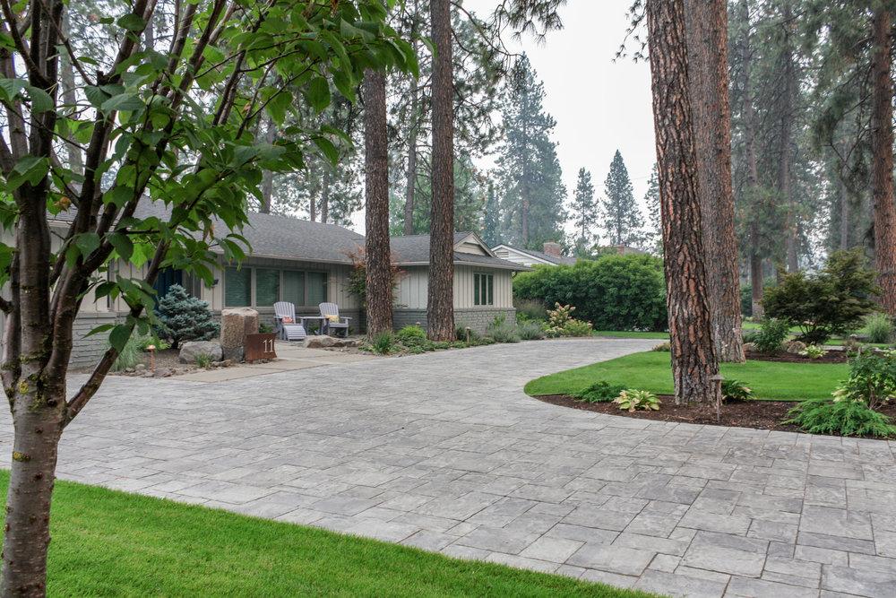 spokane south hill paver driveway