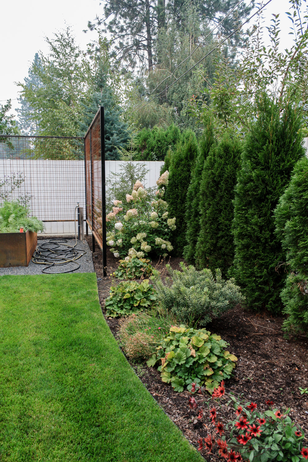 spokane landscaping for screening