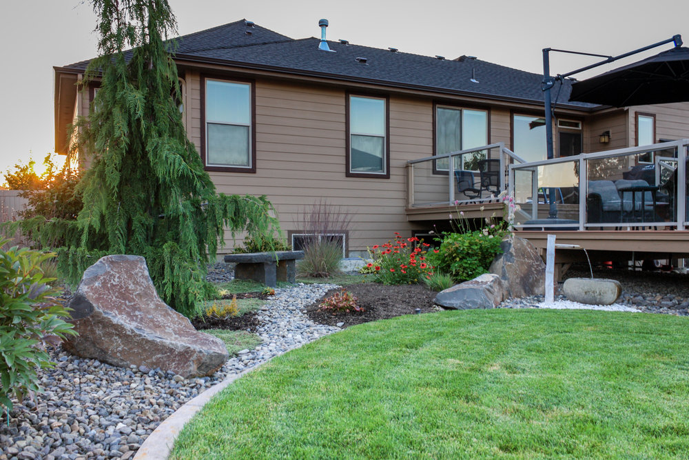 spokane valley japanese landscaping