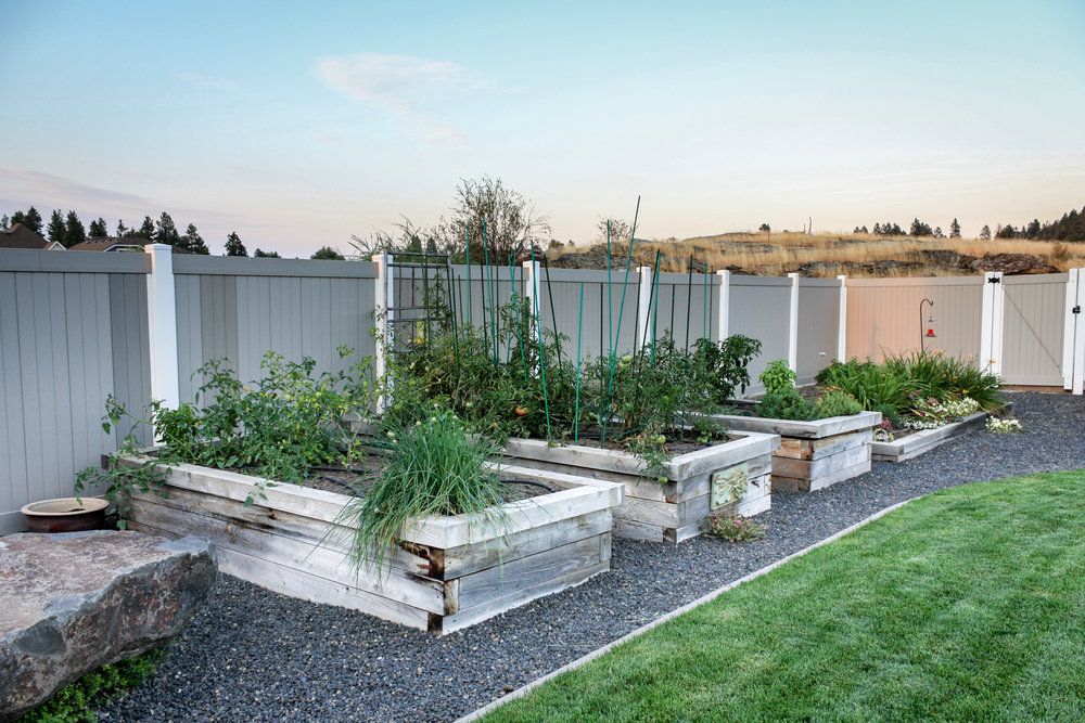 spokane valley raised garden beds