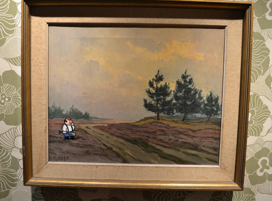 Komiksų muziejuje visas kambarys paskirtas Pieter De Poortere personažui Boerke. Man labai patiko komiksai su juo ir netgi paveikslai, kur įtapytas Boerke. Komiksų galima rasti: http://www.boerke.be/