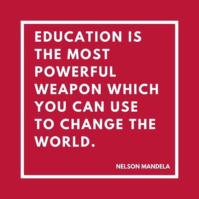Happy Birthday to Nelson Mandela who would have been 100 years old today. We are inspired by his tireless fight for human rights and value for education.  #OpportunityforAll #WednesdayWisdom