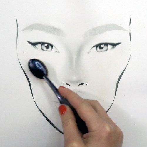 mac face chart: The face chart blog mac inspired face chart
