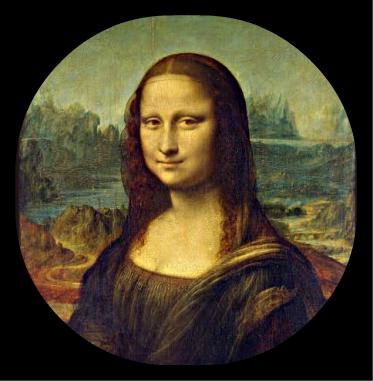 heritageframe.com framed Mona Lisa