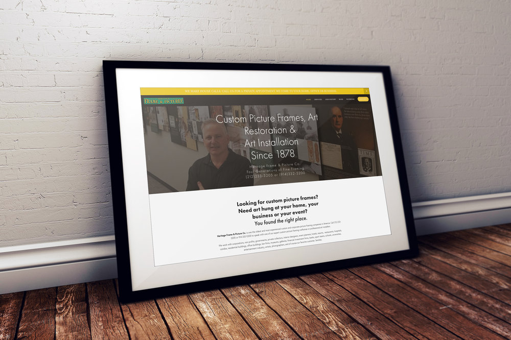Corporate Picture Framing New York City | Art Installations New York