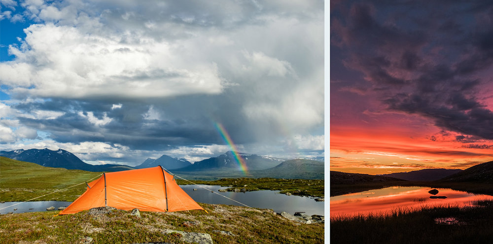 ^ Anna's solo hike last summer in Padjelanta, Sweden. Photos   ©    Anna Gustafsson .