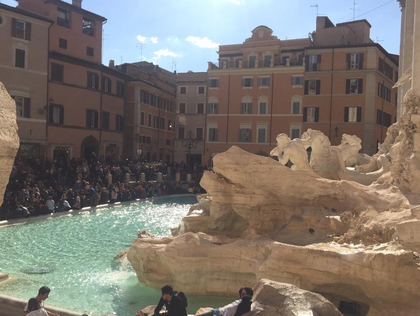 Solo travel Rome