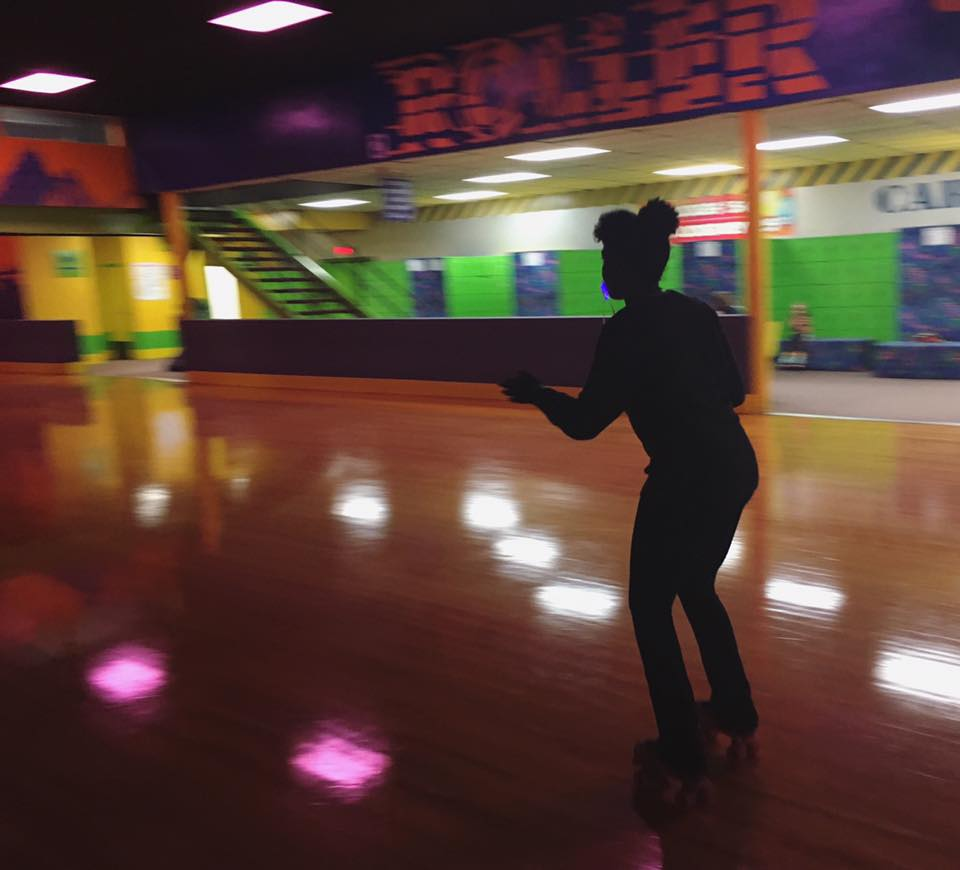 We went roller skating during a Friday field trip for Odyssey of Us. It was heartening to see those who were better skaters helping members who were inexperienced!