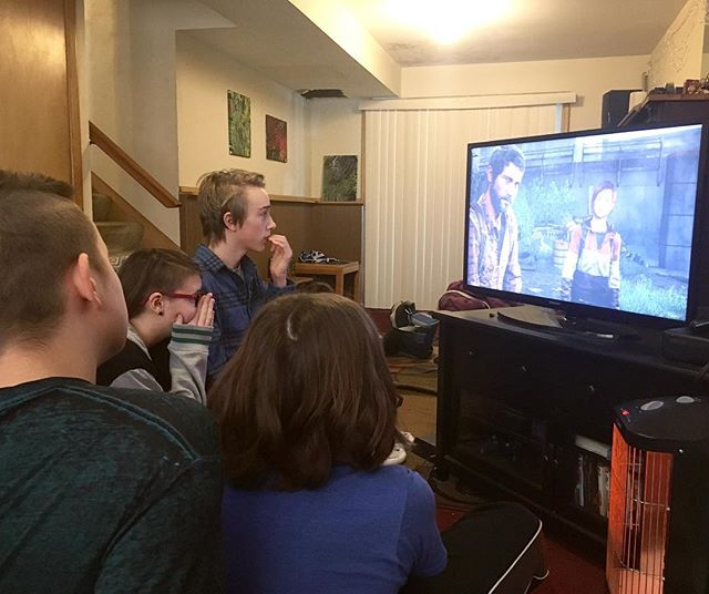 "Some of our learners are deeply invested in the storyline of the video game ""The Last Of Us."" They've been playing it through as a group and are getting very close to the end. No spoilers please!"
