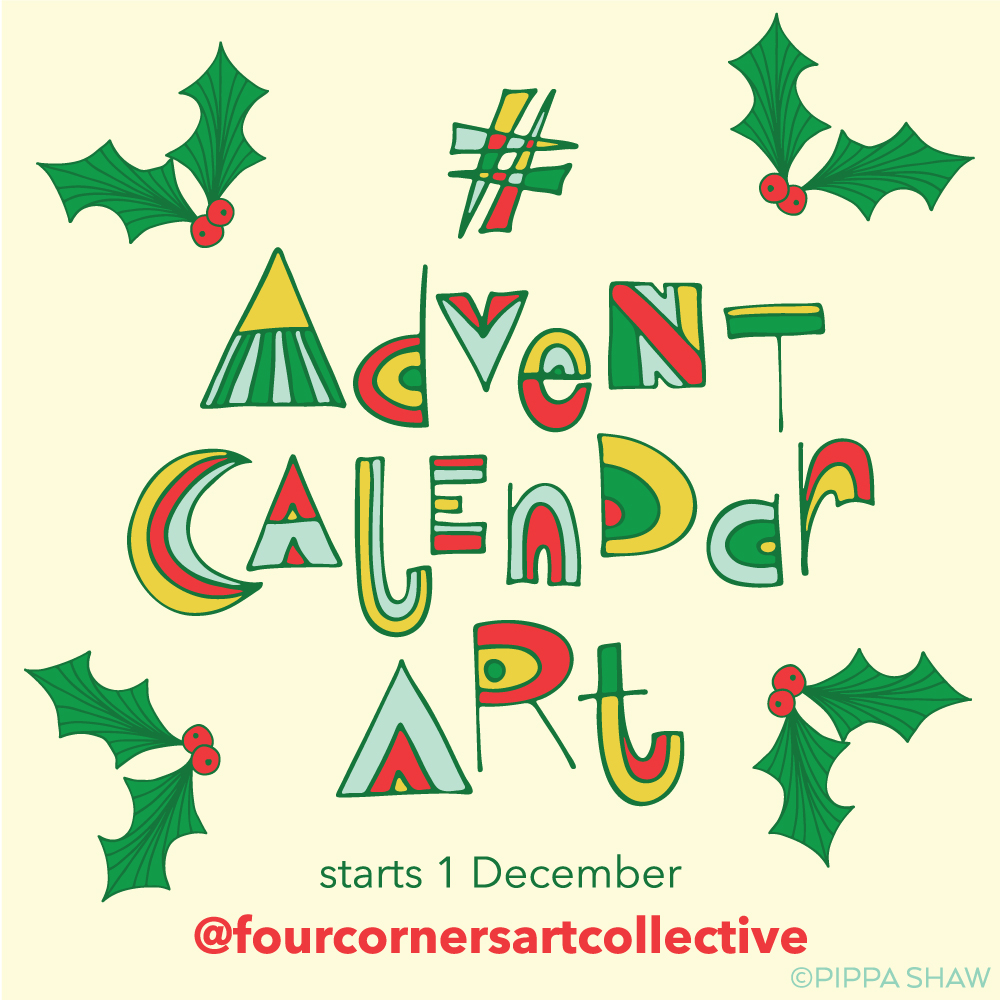 December Calendar Art : Advent calendar art is back u four corners art collective