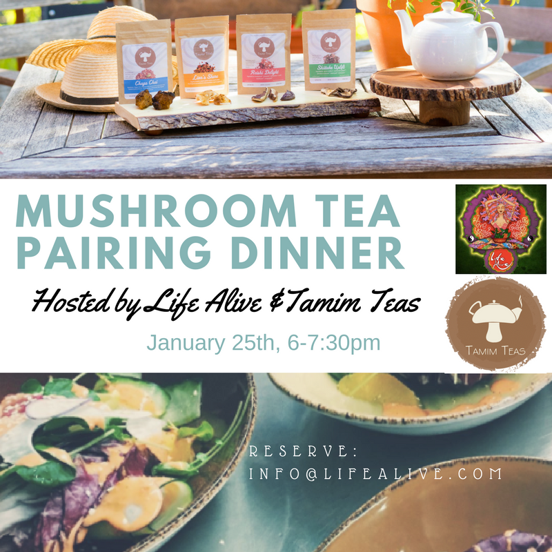 Food-Tea Pairing Events