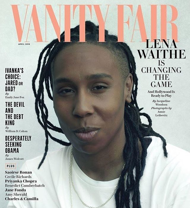 Still not over this cover & entire issue. @lenawaithe truly is a gem that we need to cherish ✨ #BlackHerstory