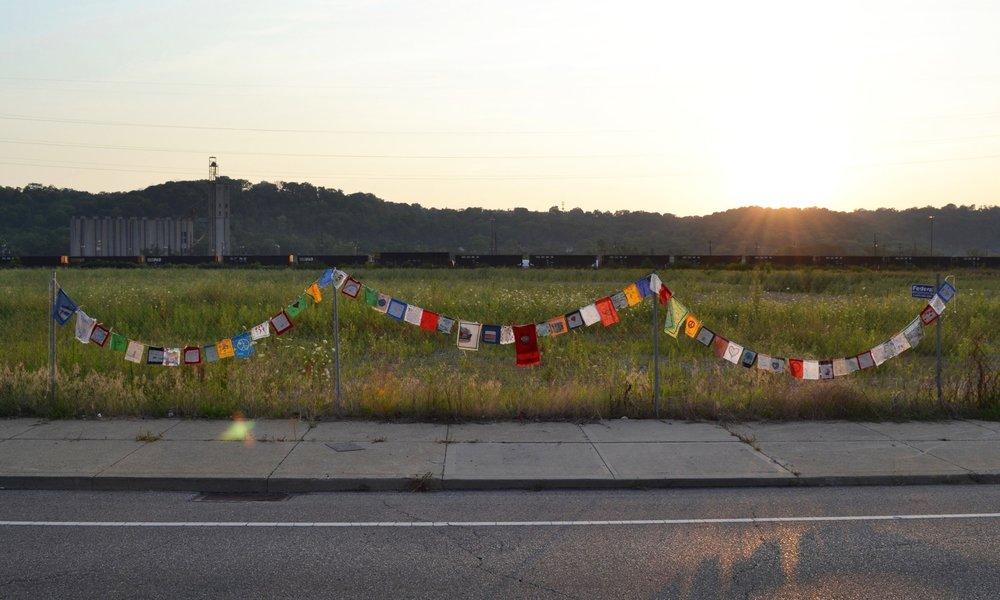 Prayer Flags for Cincinnati  Whitney Sage  2017