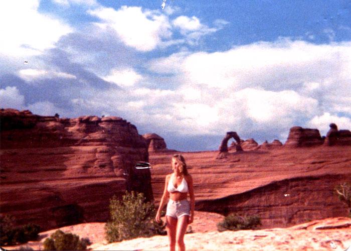 1979, Arches National Park
